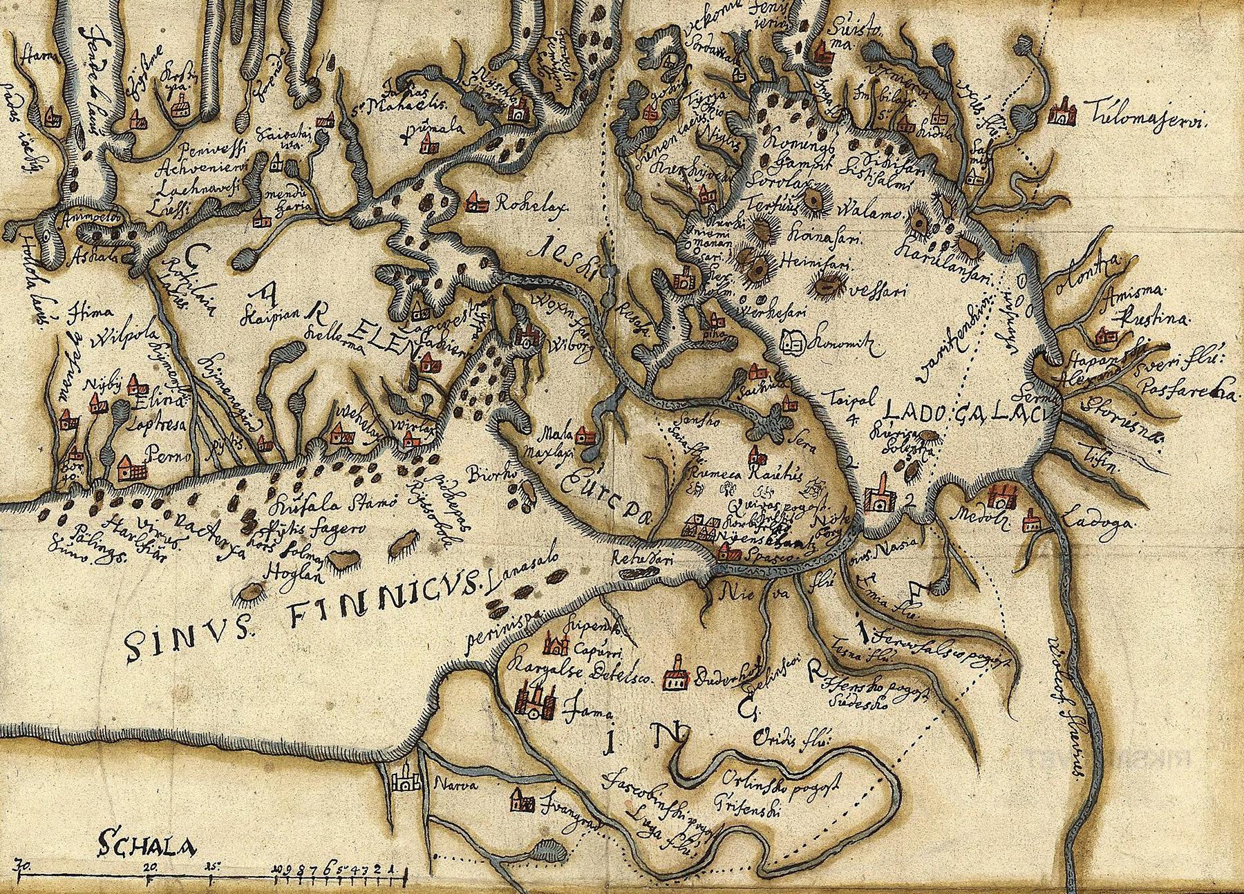 Utan känd proveniens (kartor och ritningar), Kartor och ritningar, SE/RA/81001/#/0003:00001 (1600-1650), bildid: R0001511_00001 CC0