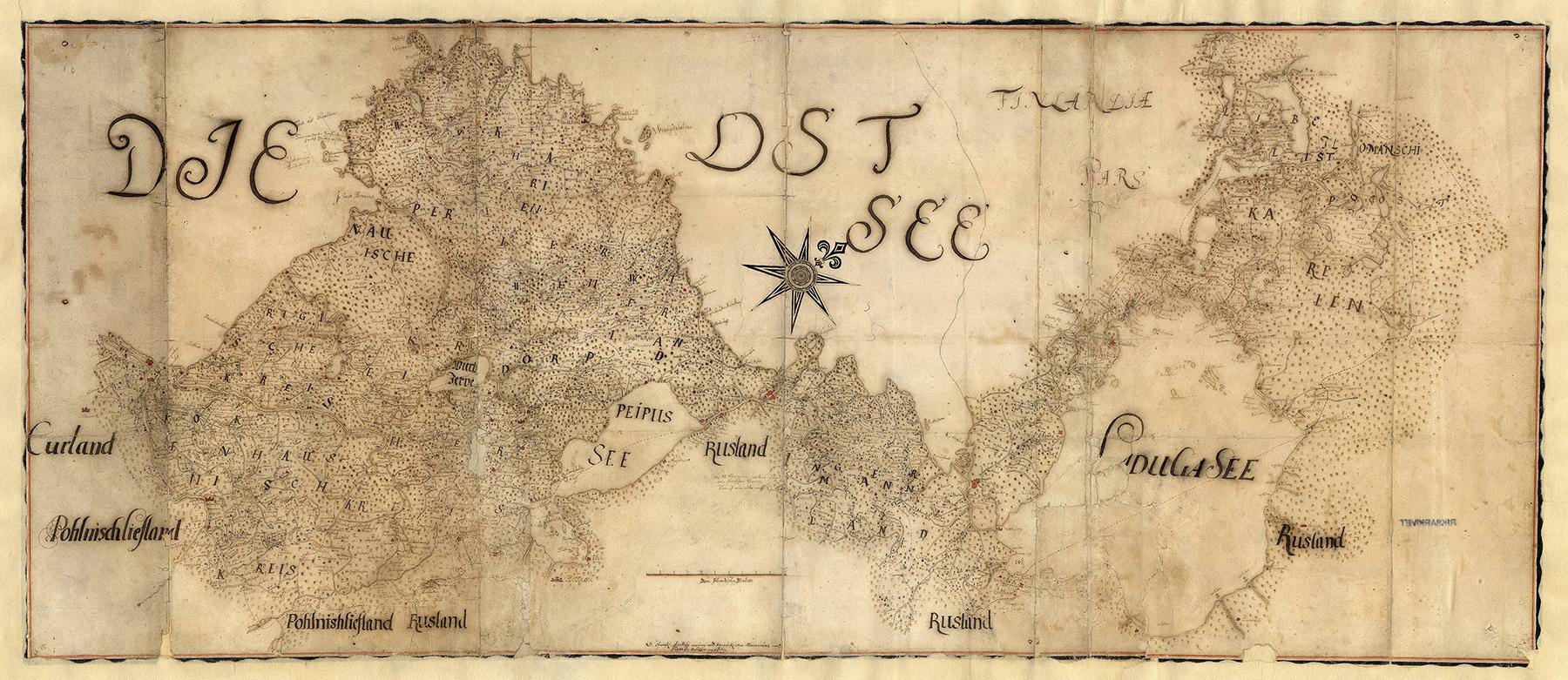 Utan känd proveniens (kartor och ritningar), Kartor och ritningar, SE/RA/81001/#/0004:00001 (1650-1699), bildid: R0001512_00001 CC0