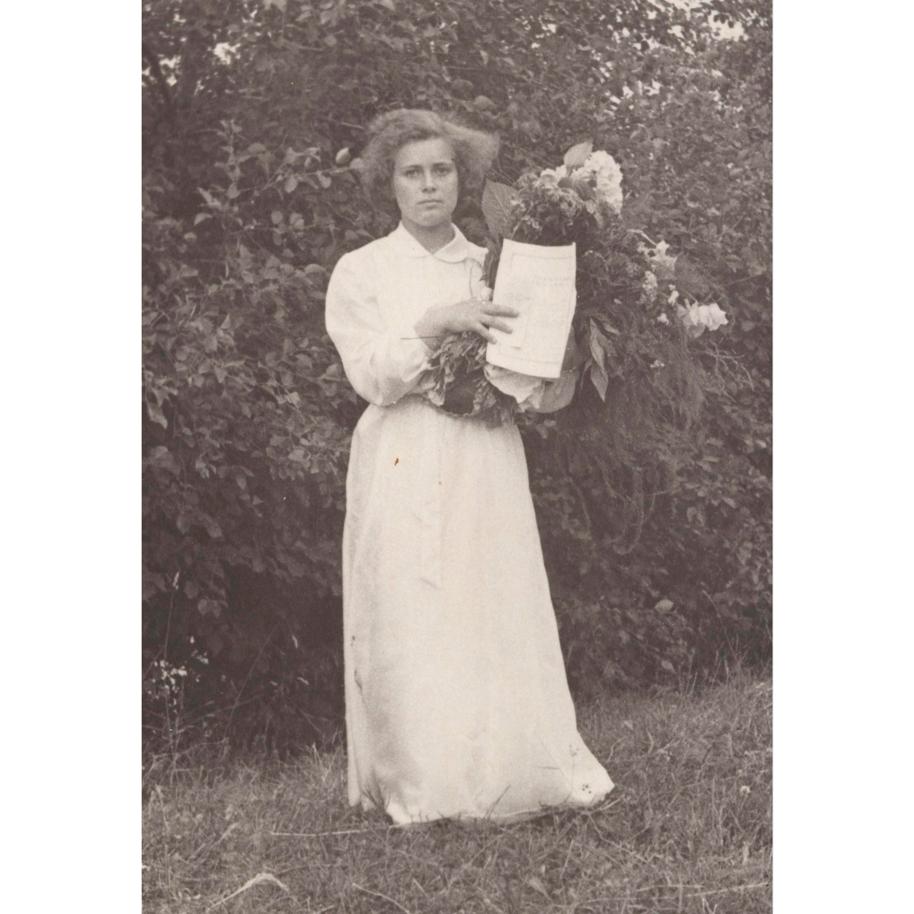 Valentina Kekin rippikuva vuodelta 1959. SKS KIA, Valentina Siiben arkisto. CC BY 4.0
